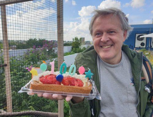 100ste excursie van dakgids Rob van Katwijk
