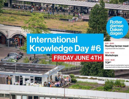 Kennisdag Rotterdamse Dakendagen 2021